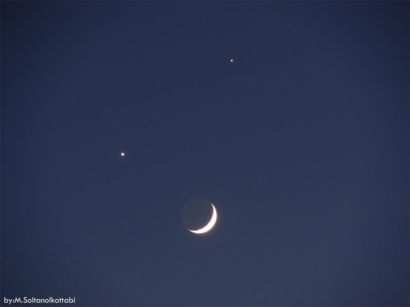 [عکس: moon-venus-jupiter-triangle_SoltanAlketabi.jpg]